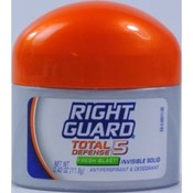 Right Guard Total Defense 5 Fresh Blast Invisible Solid