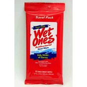 Wet Ones Antibacterial cleansing wipes