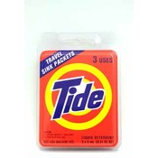 Tide Liquid Detergent Travel Sink Packets