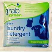grabgreen 3-in-1 Laundry Detergent-Fragrance Free (packet)