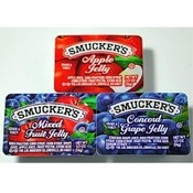 Smuckers Jelly Jam Assortment grape, apple, mixed