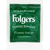 Folgers Decaf Coffee Singles