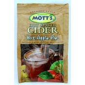 Motts Hot Spiced Cider Hot Apple Pie