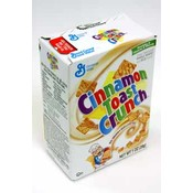 General Mills Cinnamon Toast Crunch Cereal Box