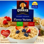 Quaker Oatmeal Variety pack 52 Count Wholesale Bulk