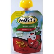 Motts Applesauce Snack & Go Pouch Strawberry