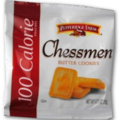 Pepperidge Farm 100 calorie Chessmen Butter Cookies