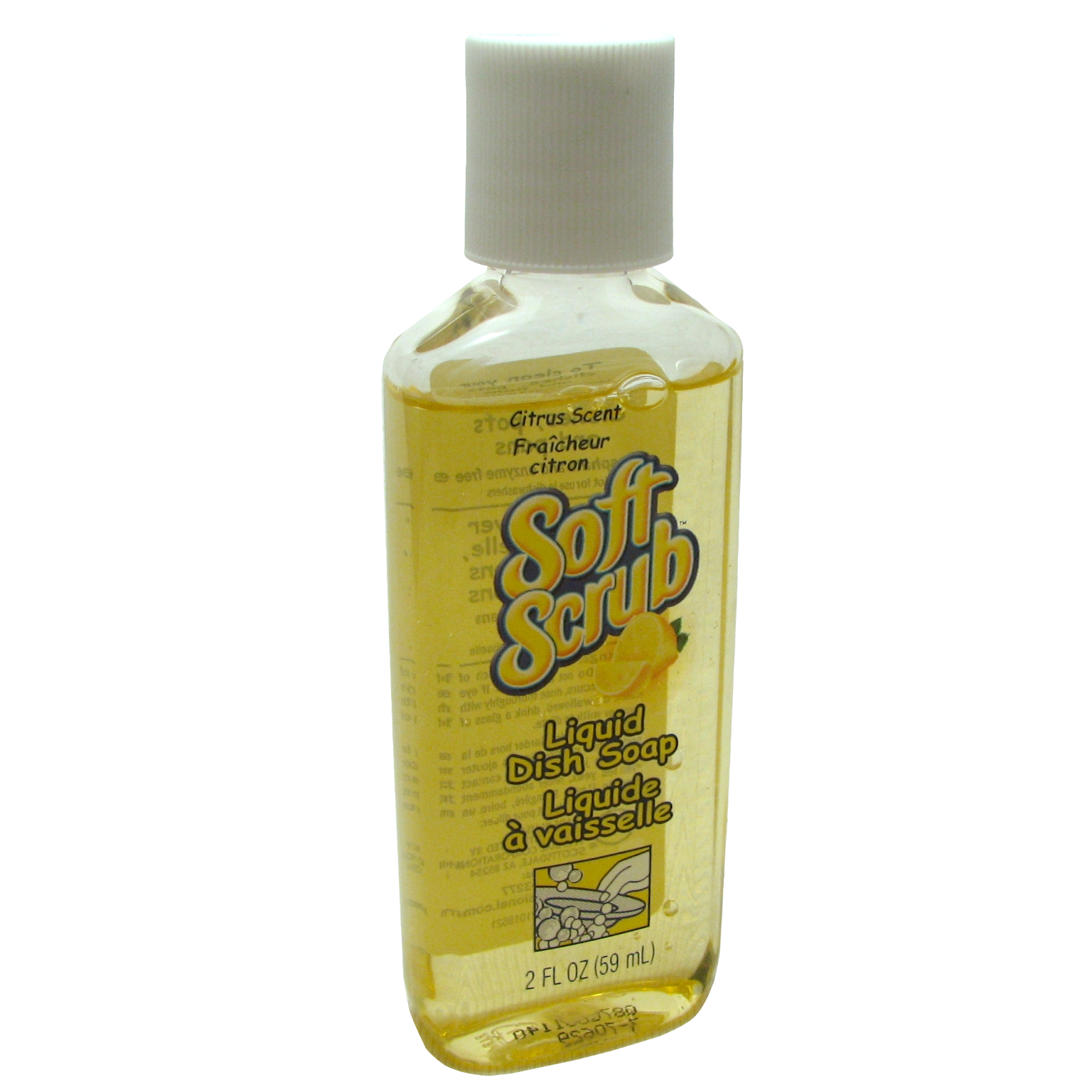 Soft SCRUB Liquid Dish Soap - Citrus Scent (665565)