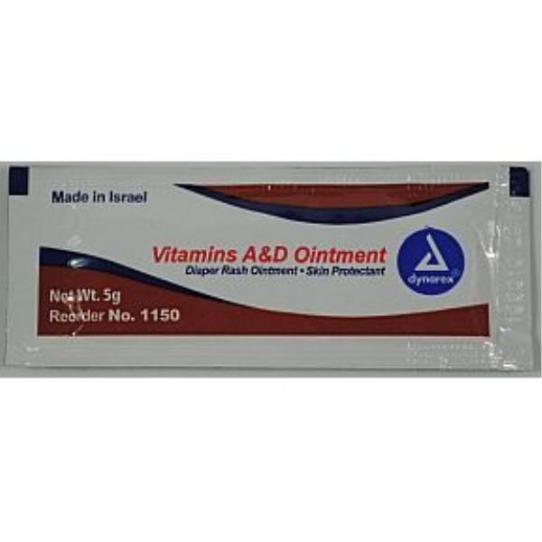 Dynarex VITAMINS A & D Ointment .5g [703798]