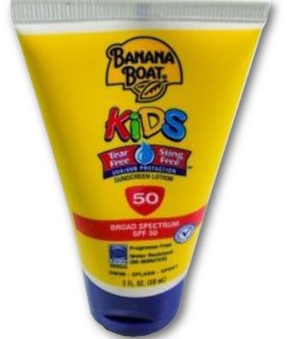 Banana Boat(R) Kids Tear Free Sunscreen LOTION SPF50 2 oz [1488046]