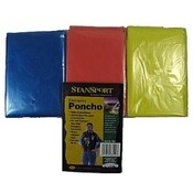 Generic Emergency Ponchos - Mixed Pack