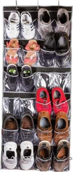 Over the DOOR Shoe Organizer - Black [2317646]