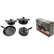 7 Pc Aluminum Non-Stick Cookware Set