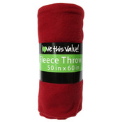 Fleece Blankets - Red