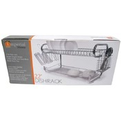 "Dish Rack 22"" Two Tier"