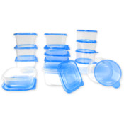 Imperial - 30 Piece Plastic Food Storage Set