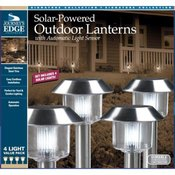 Stainless Steel Solar Light 4 Pack
