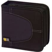 Black 32-CD Nylon Media Wallet
