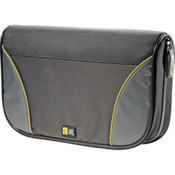 Black 72-CD Nylon Sport Media Wallet