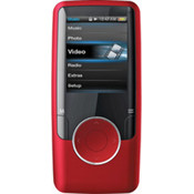 "Red 4Gb 1.8"" video mp3 Player"