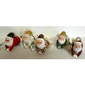 Flying Santa Ornaments
