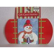 Christmas Snowman Gift Card Holders Wholesale Bulk