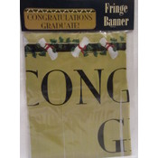 Graduation Classic Fringe Banner