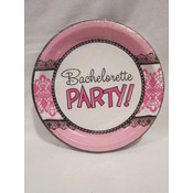 Pink & Lace Bachelorette Party Plates
