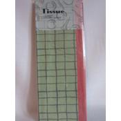 Plaid Golf Tissue Paper Wholesale Bulk