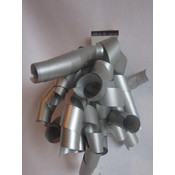 Silver Curl Bow Wholesale Bulk