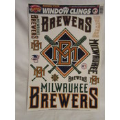 Milwaukee Brewers Window Cling