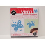Vinyl Applique: Blue Butterfly Wholesale Bulk
