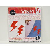 Vinyl Applique: Red Lightning Bolts Wholesale Bulk