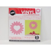 Vinyl Applique: Pink Flower Wholesale Bulk