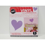 Vinyl Applique: Purple Heart Wholesale Bulk