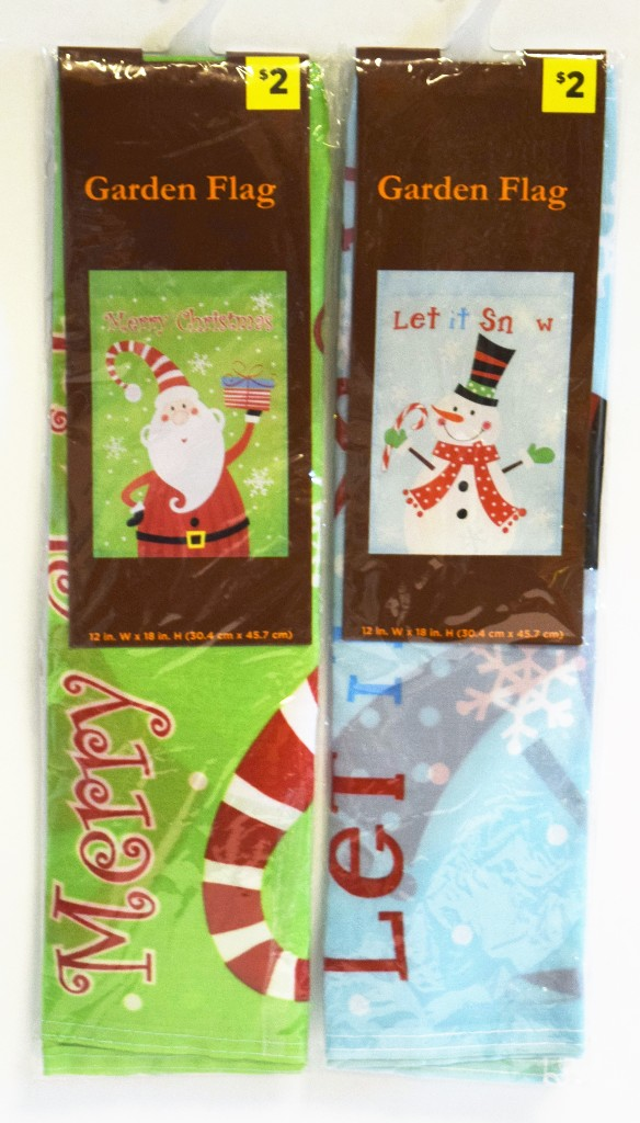 Wholesale Christmas Garden Flags Sku 2128303 Dollardays