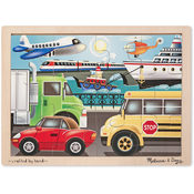 On the Go (Vehicles) Jigsaw (12 pc)