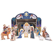 Melissa & Doug Wooden Nativity Set Wholesale Bulk
