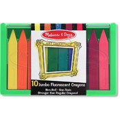 Melissa & Doug Jumbo Fluorescent Crayon Set (10 pc) Wholesale Bulk