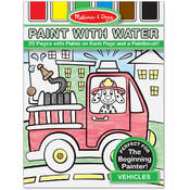 Melissa & Doug Paint with Water - Vehicles Wholesale Bulk