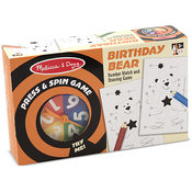Press & Spin Game: Birthday Bear