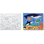 Melissa & Doug Canvas Creations - Sea Life Wholesale Bulk