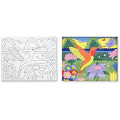 Melissa & Doug Canvas Creations - Hummingbird Wholesale Bulk