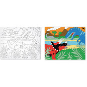 Melissa & Doug Canvas Creations - Dinosaur Wholesale Bulk