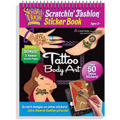 Tattoo Scratch Art Activity Pad (3492)