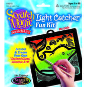 Dolphin Light Catcher Scratch Art Kit