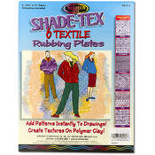 Melissa & Doug Shade-Tex Rubbing Plates - Textile Set Wholesale Bulk