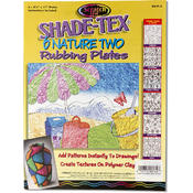 Melissa & Doug Shade-Tex Rubbing Plates - Nature Two Set Wholesale Bulk