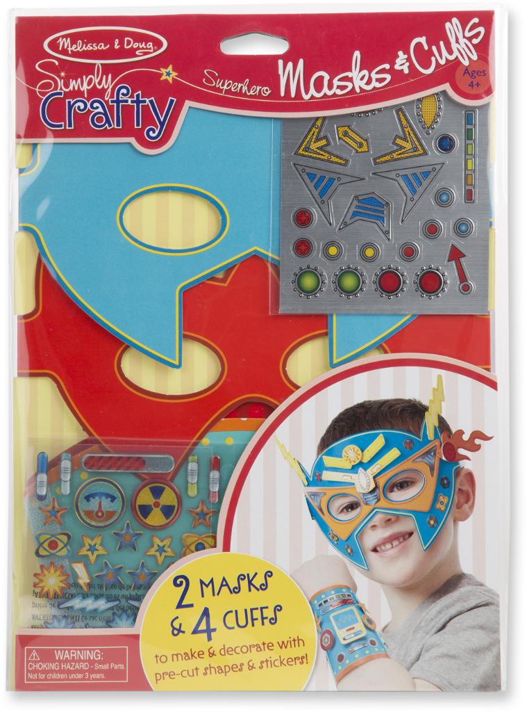 Simply Crafty - Superhero Masks & Cuffs [1870176]