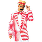 Roaring 20's Men's Plus Size Blazer Costume